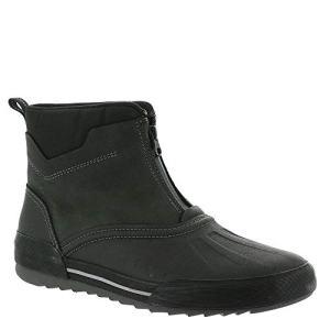 Clarks Men's Bowman Top Boot, Black Leather