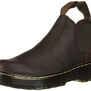 Dr. Martens Men's Hardie Chelsea Boot, Tan, 10 Regular UK (11 US)