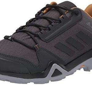 adidas outdoor Men's Terrex AX3 Hiking Boot, Grey Five/Black/Mesa