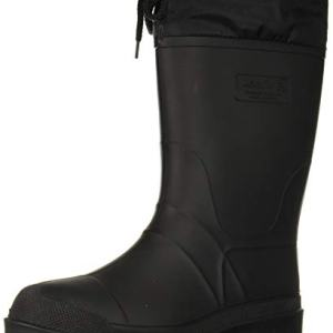 Kamik Men's Hunter Snow Boot, Black, 15 US (boxed) - current in stock