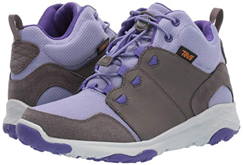 Teva Girls' Y Arrowood 2 MID WP Hiking Shoe, Dark Gull Grey