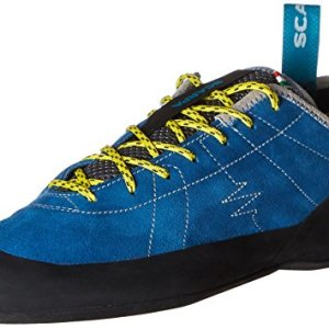 SCARPA Men's Helix Climbing Shoe-M, Hyper Blue, 9-9.5