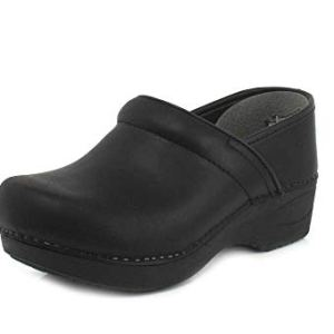Women's XP 2.0 Black Waterproof Pull-up Leather Clogs