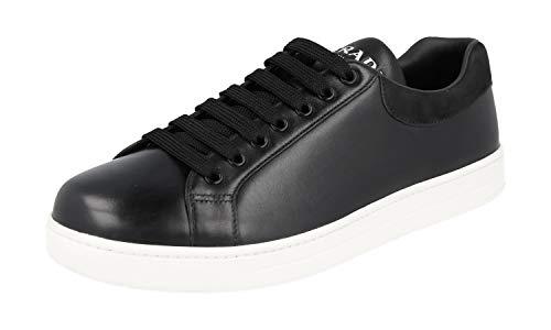 Prada Men's White Leather Sneaker