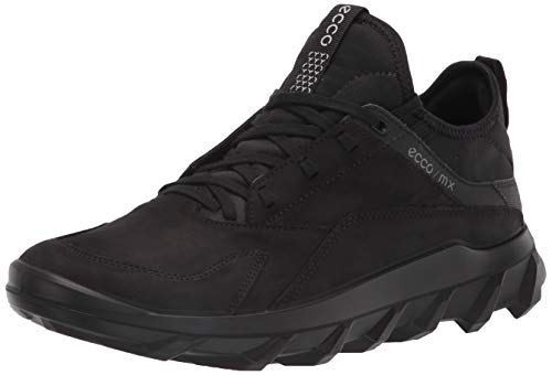 ECCO mens Mx Low Sneaker, Black