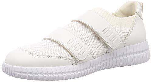 Geox Womens Novae 1 White Sneaker