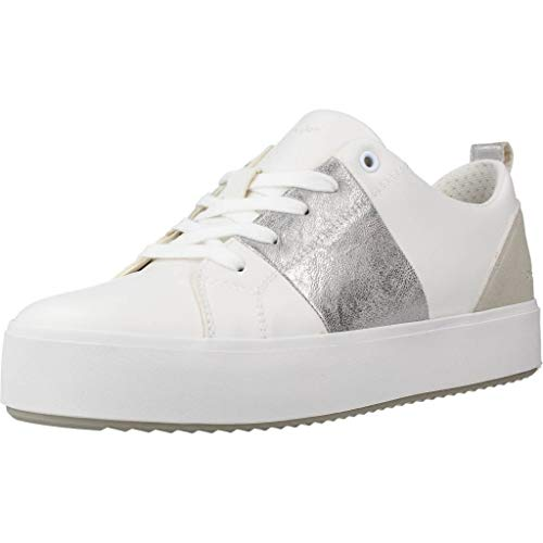 Geox - Women's Blomiee Sneakers White/Silver