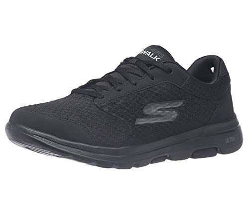 Skechers Athletic Mesh Lace Up Performance Walking Shoe Sneaker