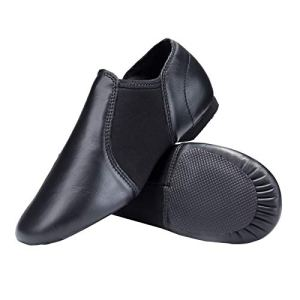 STELLE Leather Jazz Slip-On Dance Shoes for Adult