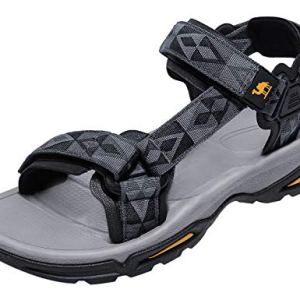 Mens Hiking Sandals Waterproof with Arch Support