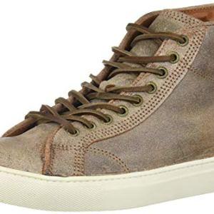 Frye Men's Walker Midlace Sneaker, Chocolate