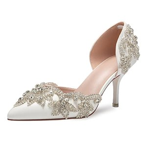 Women's Stiletto High Heel Dress Pumps Pointy Toe