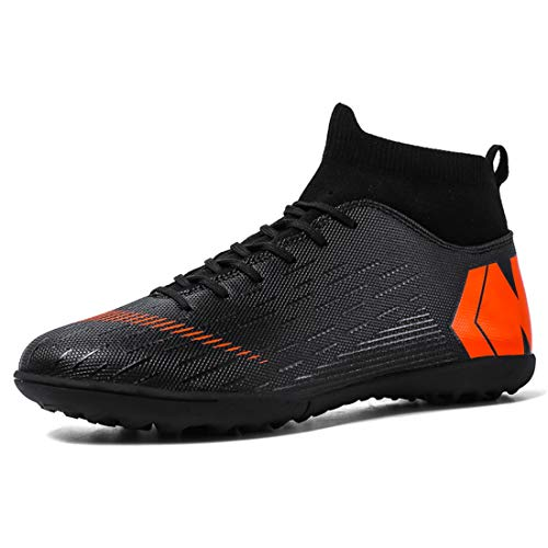LIAOCX Men's Soccer Boots Shoes TF/AG Athletic Sneaker