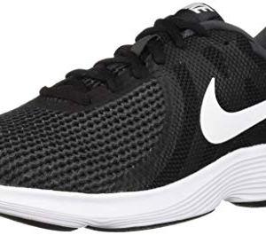 White-Anthracite Nike Men's Revolution 4 Running Shoe