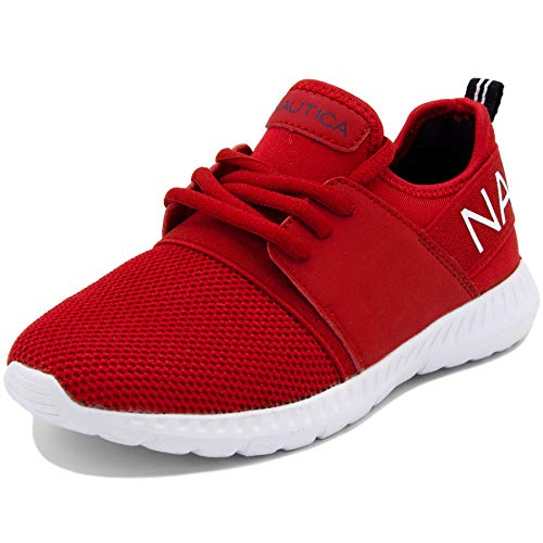 Nautica Kids Boys Lace Up Sneaker Comfortable Running Shoes