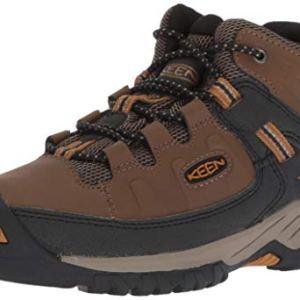 KEEN Big Kid's Targhee Mid Height Waterproof Hiking Boot