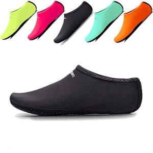 JIASUQI Summer Barefoot Athletic Aqua Water Shoes