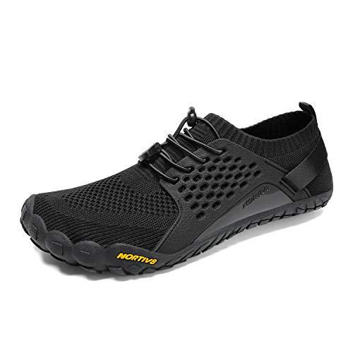 NORTIV 8 Men's Barefoot Water Shoes Lightweight