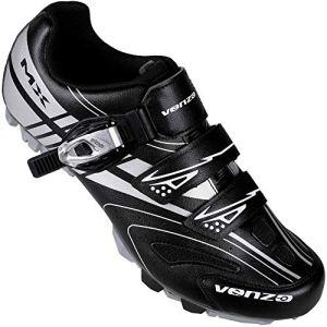 Venzo Mountain Men's Bike Bicycle Cycling Shoes