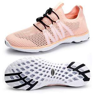 SUOKENI Women's Quick Drying Slip On Water Shoes