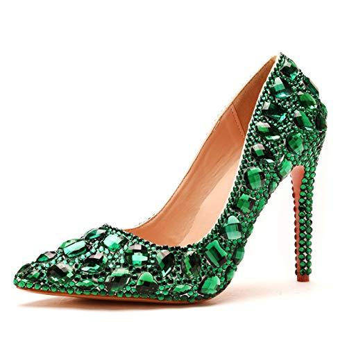 Crystal Queen Women Luxury Rhinestones Stiletto