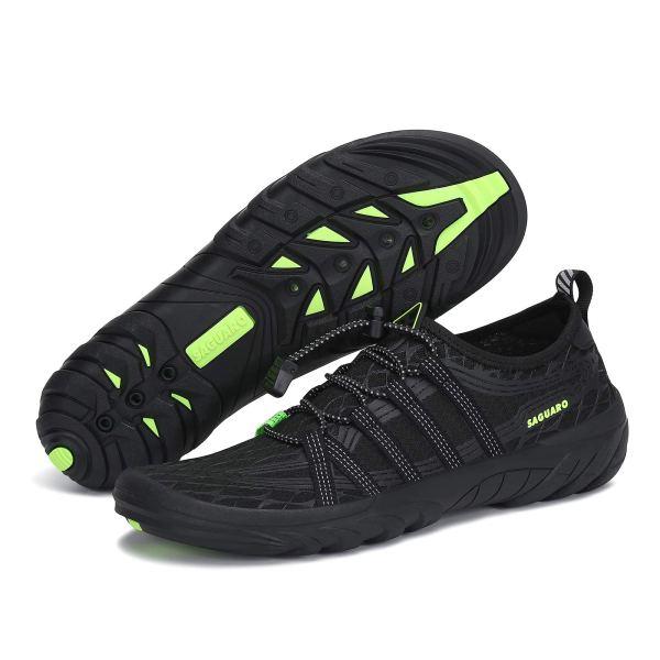 SAGUARO Men Water Shoes Quick Dry Swim Shoes