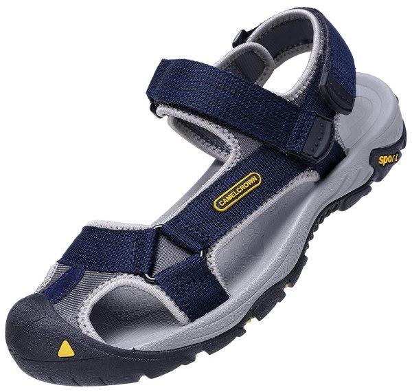 Men's Waterproof Hiking Sandals Closed Toe Water Shoes