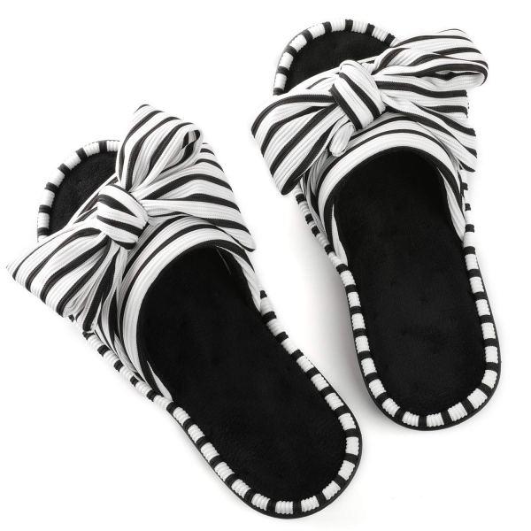 ULTRAIDEAS Women's Memory Foam Open Toe Slide Slippers