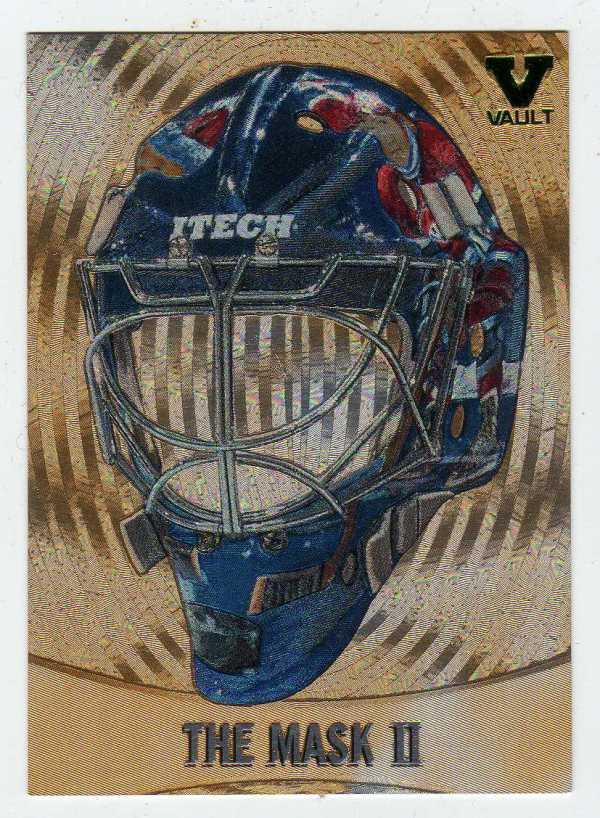 2015-16 ITG Final Vault 02-03 Between the Pipes Mask Jeff Hackett