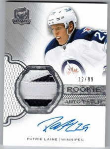Upper Deck The Cup Rookie Autopatch Patrick Laine
