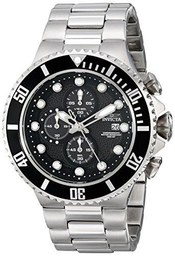 Invicta Men's Pro Diver Analog Display Japanese Quartz Silver Watch
