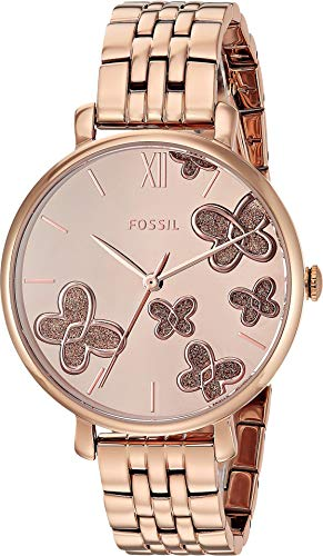 Fossil Women's Jacqueline - ES4531 Rose Gold One Size