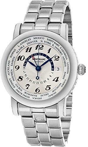 MontBlanc Star 106465 World Time GMT Men's Luxury Watch