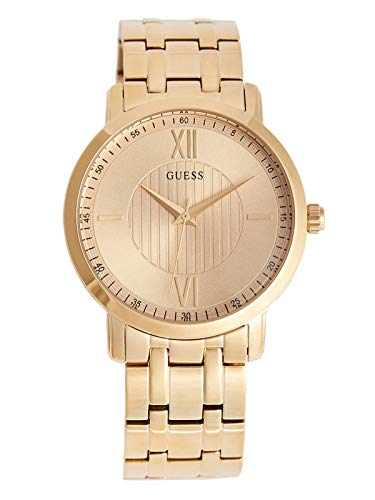 GUESS Factory Men's Gold-Tone Analog Watch