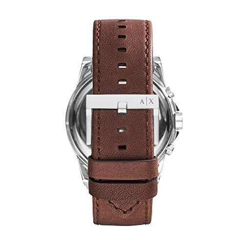 Armani Exchange Men's AX2501 Brown  Leather Watch  Armani Exchange Men's AX2501 Brown Leather Watch
