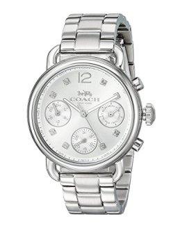 COACH Women's Delancey Sport - Silver White One Size