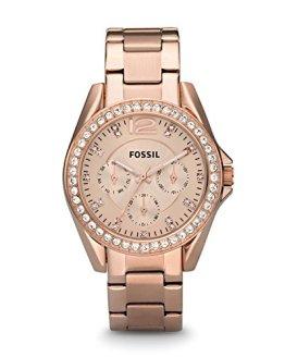 Fossil Women's Riley Quartz Stainless Steel Dress Watch