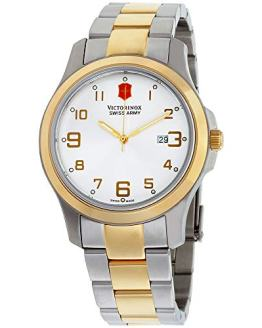 Victorinox Swiss Army Men's Quartz Stainless Steel Casual Watch