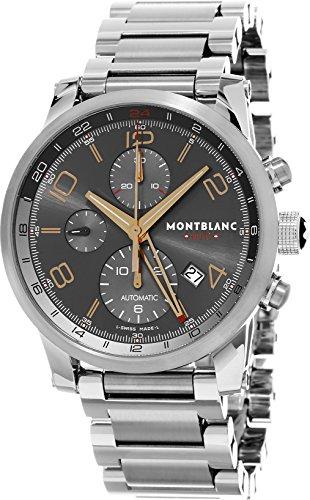 Montblanc Timewalker ChronoVoyager UTC Men's Stainless Steel Swiss Watch