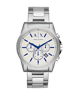 Armani Exchange Men's AX2510 Silver Quartz Watch
