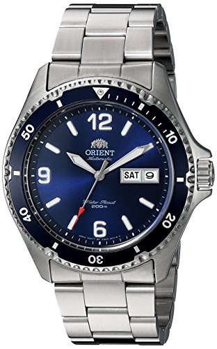Orient Men's 'Mako II' Japanese Automatic Stainless Steel Diving Watch
