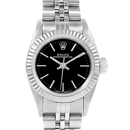 Rolex Oyster Perpetual Automatic-self-Wind Female Watch Rolex Oyster Perpetual Automatic-self-Wind Female Watch 67194 (Certified Pre-Owned)