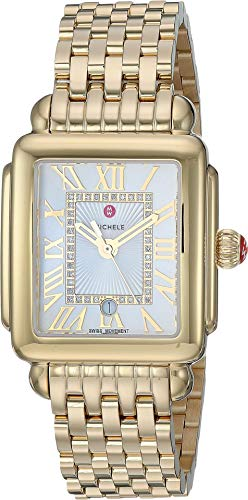 Michele Women's Deco Madison Mid Gold Plated