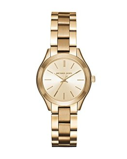 Michael Kors Women's Mini Slim Runway Gold-Tone Watch MK3512