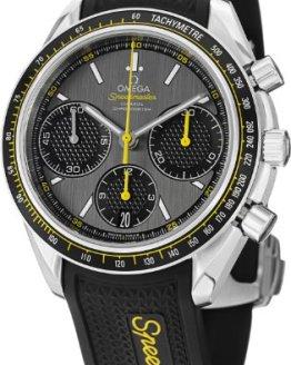 Omega Speedmaster Racing Grey Dial Mens Watch