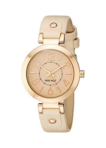 Women's Rose Gold-Tone Case Blush Pink Strap Watch