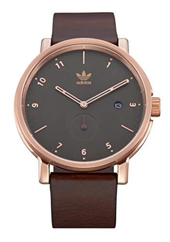 Adidas Watches District_LX2. Premium Horween Leather Strap, 20mm Width