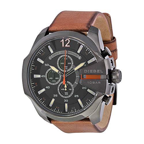 Diesel Men's Mega Chief Quartz Stainless Steel Watch