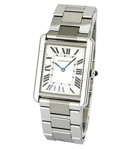 Cartier Men's Tank Solo Large Stainless Steel Watch