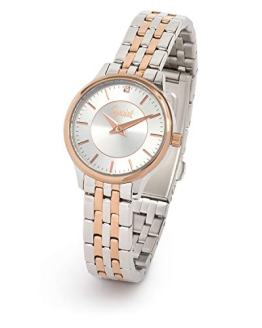 Speidel Ladies' Stainless Steel Watch with Swarovski Crystal on Silver Dial